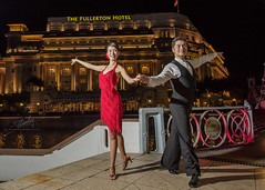 Tango Dance @ Fullerton (Rev'it) Tags: dance alt arts nostalgia tango winner singaporeriver fullertonhotel latindance