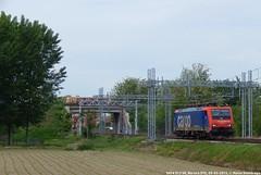 E474 013 (MattiaDeambrogio) Tags: train italia trains sbb terminal cargo 013 sr treno timo lis boschetto treni locomotiva novara mortara e474 isolata intermodale sbbci