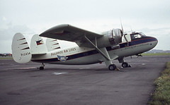 PI-C434. Philippine Air Lines Scottish Aviation Twin Pioneer Srs.2 (Ayronautica) Tags: october aviation scanned stol prestwick pik 1963 philippineairlines egpk scottishaviationtwinpioneersrs2 pic434