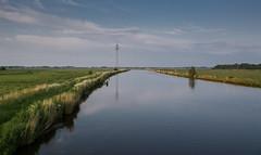DSC_6816-1 (ontonivo) Tags: travel germany landscape deutschland view ostfriesland landschaft channel hinte