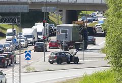 One of those days I guess (Steffe) Tags: summer car waiting sweden accident haninge handen gudbroleden refug ltavgen vg260 minicoopersall4