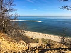Steep, sandy trail down to the beach - Sunken Meadow State Park (Matt McGrath Photography) Tags: newyork beach water unitedstates spit longisland northshore kingspark longislandsound sunkenmeadowstatepark