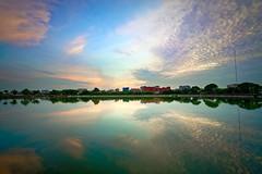 2016-06-08 18.47.28 (pang yu liu) Tags: park sunset reflection pond dusk 06  pate jun   2016