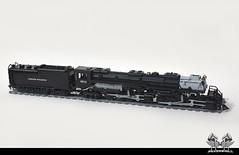 Lego Union Pacific Big Boy in 1:38 (bricksonwheels) Tags: boy scale big model lego pacific modeling union technic locomotive 4014 jaap bricksonwheels brickstuff