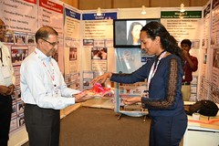 Ms. Kidist Chala, ILO Ethiopia - Opening the SCORE Stall in ACMEE Exhibition (ILO in Asia and the Pacific) Tags: india norad seco smes employment working conditions social dialogue