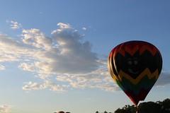 IMG_1560 (thehachland) Tags: sunset fire flames balloon hotairballoons ballstonspa saratogacounty saratogacountyfairgrounds saratogaballoonandcraft