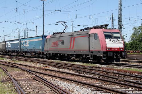 Crossrail 185 594-9 TTS Zug, Basel Bad Bhf