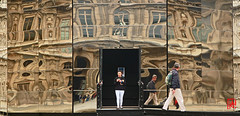 La Cour Carre du Louvre comme vous ne l'avez jamais vue (mamnic47 - Over 6 millions views.Thks!) Tags: paris louvre exposition miroir reflets pyramidedulouvre courcarredulouvre lesgens img1233 paris4me evajospin