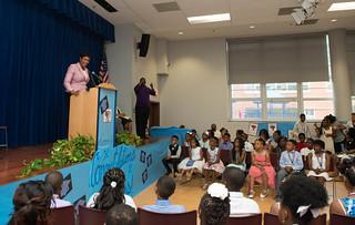 MMB@Powell ElementaryGraduation.6-15-16.Khalid.Naji-Allah-6