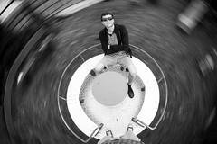 Giddy (C_MC_FL) Tags: longexposure bw man motion sunglasses playground canon person eos blackwhite cool movement long exposure sitting fotografie photographie pov cigarette spin sigma wideangle carousel fisheye pointofview bewegung sw mann dizzy smoker belichtung karussell sonnenbrille spielplatz zigarette rauchen langzeitbelichtung sitzen 10mm weitwinkel dynamik drehen schwindelig blurmotion fischauge schwarzweis 60d