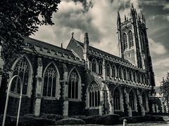 Scunthorpe 28.05.2016 (Reynard_1884) Tags: greatbritain england blackandwhite bw monochrome mono blackwhite olympus monotone lincolnshire scunthorpe stjohnschurch em5 mirrorless artinbw 2021visualartscentre microfourthirds micro43rds mu43 olympusomd olympusomdem5