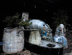 IMG_3375 (Jan Egil Kristiansen) Tags: blue fish bird fountain pottery fugl fisk vann fontene keramikk img3375