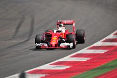 Sebastian Vettel (kevinmcevey) Tags: austria f1 ferrari grandprix formula1 motorracing spielberg ferrarif1 scuderiaferrari sebastianvettel austriangrandprix