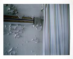 (.tom troutman.) Tags: ny abandoned film hospital polaroid fuji land instant fp 250 100c pullandpeel