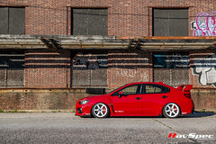 "RAYS VOLK Racing TE37SL White Subaru STI 18x10 +30 • <a style=""font-size:0.8em;"" href=""http://www.flickr.com/photos/64399356@N08/28117383206/"" target=""_blank"">View on Flickr</a>"
