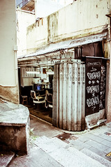 182 365+1 2016 Corner Barber Shop, Hong Kong (Kris McNeil) Tags: china city urban shop corner market hong kong barber marketplace 365 oldest 2016 366 3651