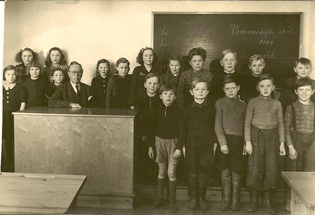 Vemmetofte skole 1949