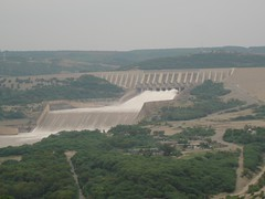 The Mangla Dam is located on the Jhelum River in the Mirpur District of Azad Kashmir, Pakistan. Mangla Dam is the twelfth largest dam in the world (sheryaar2012) Tags: pakistan mountains river villages hills peshawar punjab karachi nwfp lahore sindh valleys islamabad quetta azadkashmir balouchistan northpakistan