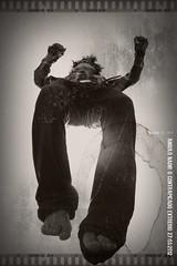 freedom is free (Racho blah¡) Tags: bw blanco animal vintage movie mask negro fox pelicula mascara zorro