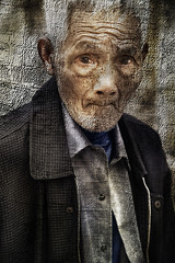 Hangzhou Grandfather (D'ArcyG) Tags: china old portrait man grandfather elderly impression textured flickrdiamond