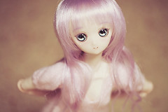 Lavender 1 (Hiritai) Tags: sleeping anime doll dolls princess head 01 customized custom mh customised 50cm repaint obitsu 23cm 21cm parabox