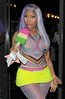 Nicki Minaj leaves her hotel London, England