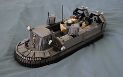 Amph-2 Landing-Craft (Lego Junkie.) Tags: lego military competition annual build hovercraft