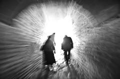 Walk into the light (Maríon) Tags: street travel bw white black turkey nikon istanbul marion reise tyrkia supermarion nesje d7000 marionnesje