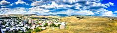 The view from Erebuni, close to Yerevan in Armenia