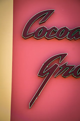 cocoanut grove (thermophle) Tags: california music santacruz wall neon historic venue cocoanutgrove