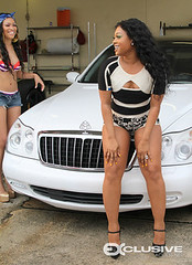 trina im back video shoot pictures