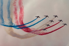 Patrouille de France (Lars Helge) Tags: june norway juni plane canon airplane eos norge fly airport display aviation air aeroplane aerial airshow 7d planes l 70200 sola 2012 flyplass rogaland canon70200f4l 70200mm patrouilledefrance airplans solaairport luftfart flyvning solaairshow canoneos7d aerodisplay canon7d flyving llence
