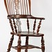 10. Ornate English Windsor Chair