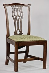 11.  Chippendale Style Side Chair