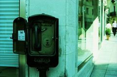 lately. (piermario) Tags: hello sardegna 50mm xpro crossprocessed sardinia order fuji taxi telephone things off ciao contax dai 100 fujichrome telefono provia ultimamente olbia settle cose lately 139quartz ordine sistemare