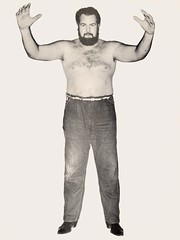 Unknown Wrestler (Red Oak Kid) Tags: studio bill dallas wrestling mercer wrestler sportatorium