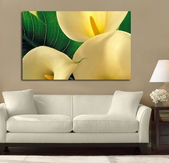 Calla Lillies (Simply Canvas Art) Tags: art wallart flowerart homedecoration flowerprints flowercanvas flowerwallart flowercanvasprints flowercanvasart flowercanvaswallart