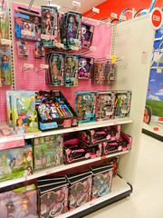 Monsters at Target (alexbabs1) Tags: new monster shop season toy toys store high dolls display barbie shelf entertainment stop target liv grocery girlz mga shelves moxie flop mattel reset bratz victorious stardoll mgae groceryshawpinandzillers