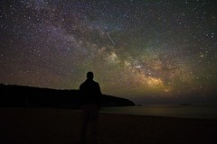 Self portrait (sherbypictures) Tags: park sky usa canon dark way stars vincent maine tokina national milky f28 acadia fortin t3i 1116 600d