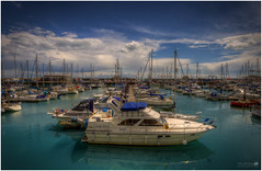 Ramsgate Harbour (LeePellingPhotography.co.uk) Tags: blue sea sky lady clouds boat kent harbour lee mast isle zara ramsgate lifebouy thanet pelling