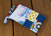 Custom Wristlet - Front (made by mauk) Tags: sewing present patchwork custom wristlet giftcraft madebymauk maukrulz