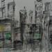 Ink Drawing Night City 3 / 墨繪夜城3 / Tinten-Zeichnung Nacht Stadt 3