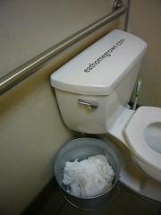 Handle Waste Bucket (Heath & the B.L.T. boys) Tags: bucket toilet bathroom seattle galvanized words