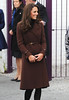 Catherine, Duchess of Cambridge aka Kate Middleton arriving at The Brink Bar, Liverpool's first non-alcoholic bar Liverpool, England