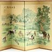 407. Four Panel Chinese Folding Table Screen