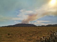 (-mrh) Tags: clouds fire joshuatree