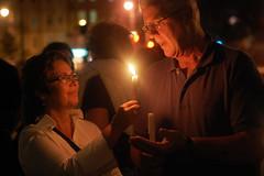 Sikh Candlelight Vigil (Kara Korab) Tags: light boston wisconsin 50mm nikon couple candle photojournalism shooting candlelight sikh bu candlelightvigil thequad bostonuniversity sabu nikond40 sikhmassacre marshchappel sikhassociationatbostonuniversity wisconsinmassacre