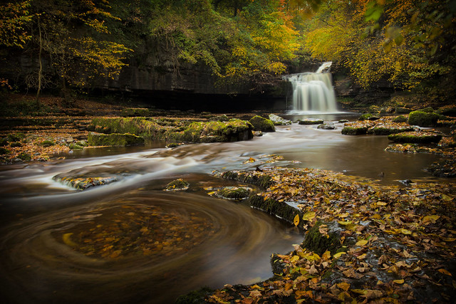 Cauldron Falls, West Burton (Explored Front Page)