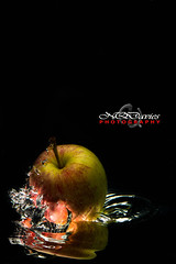 Splash (NQDavies Photography) Tags: water fruit speed high flash bubbles drop splash lowkey highspeed