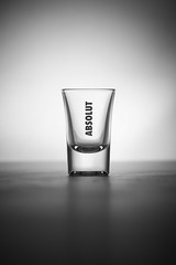 Absolut Vodka (WIE?GAND! PHOTOGRAPHY) Tags: portrait white black glass glasses still shot atmosphere gelb commercial alcohol product brand shotglass